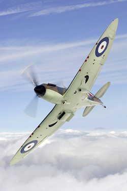 Spitfire P7350 of the Battle of Britain Memorial Flight – BBMF